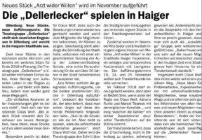 Die Dellerlecker zieht es nach Haiger?!