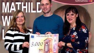 Wir spenden 3.000 € an Mathilda